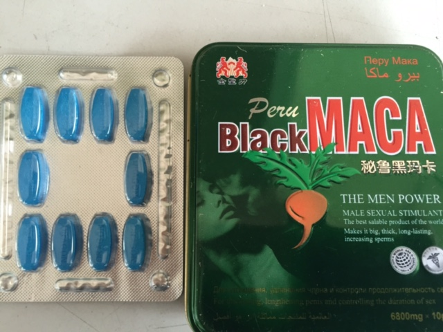 Black Peru Maca Pills