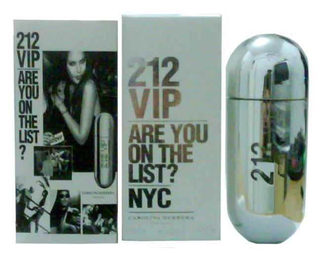 Carolina Herrera 212 VIP Silver Edition