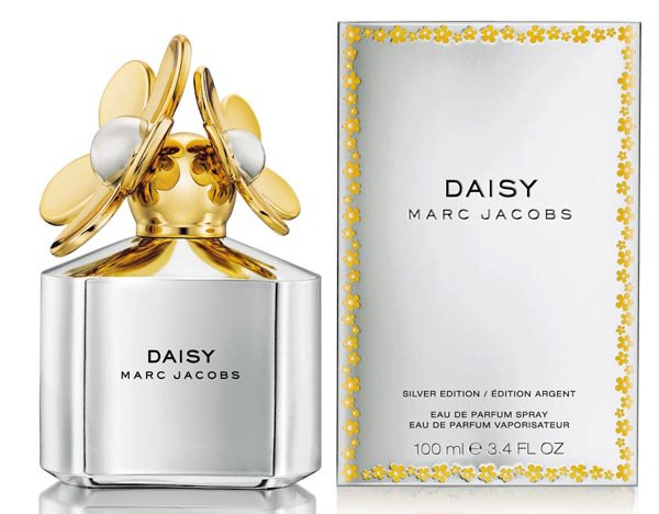 Daisy Silver Edition Marc Jacobs