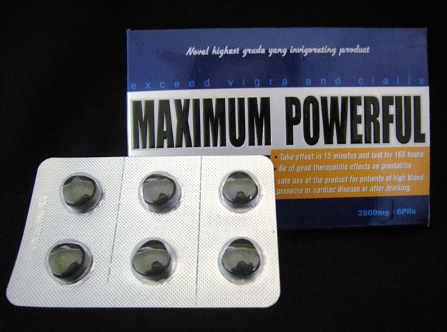 Maximum Powerful Pills