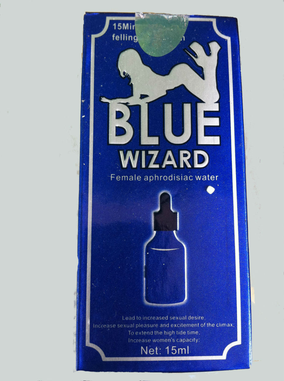 Blue Wizard Drops