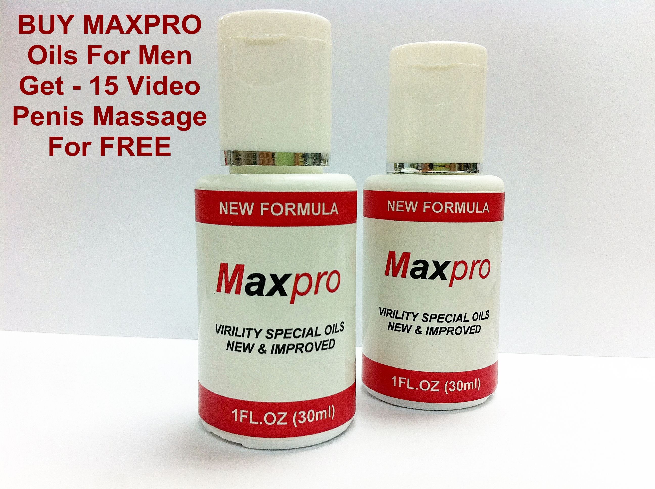 Maxpro Massage Oils Free Penis Massage Technique