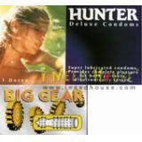 Hunter Duluxe Condom 12""