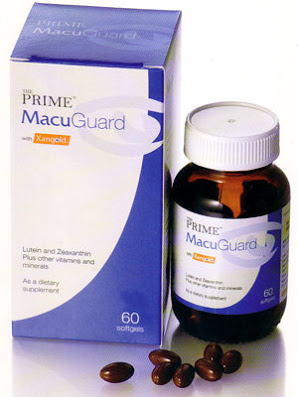 Prime MacuGuard with Xangold 60s